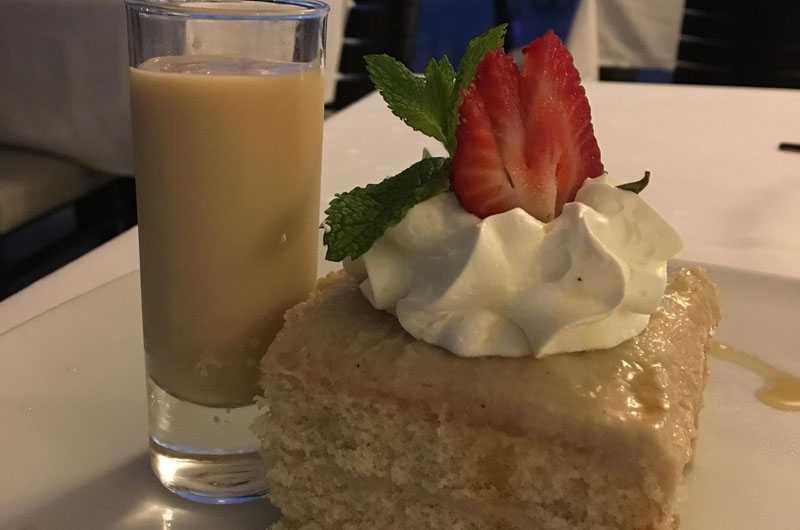 Aruba cashew cake for Christmas at Bucuti Tara Beach Resort Melanie Reffes