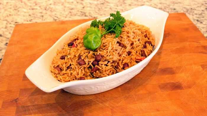 Haitian Rice and Beans Diri Kole - Chef Thia