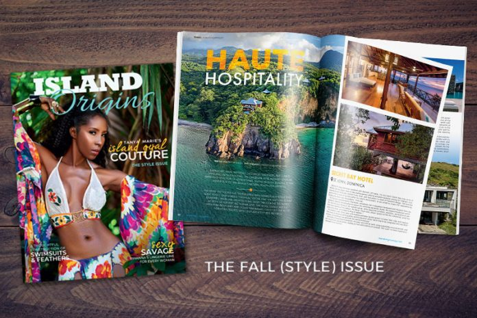 Caribbean Fashion in the style issue of Island Origins Magazine