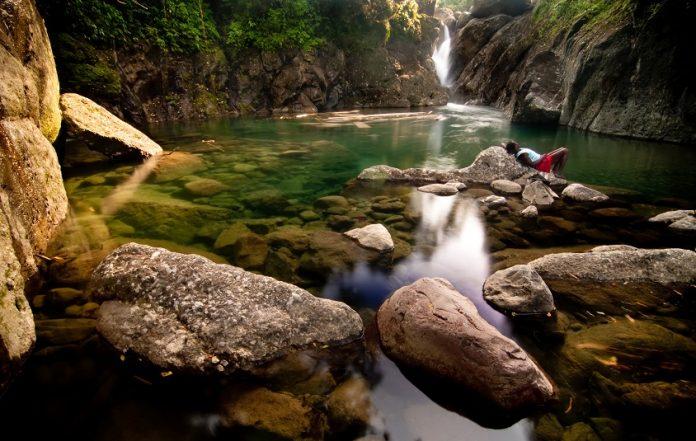 Jamaica Dry River Falls