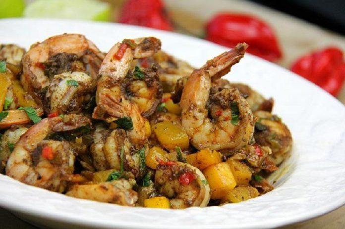 jamaican jerk shrimp 2