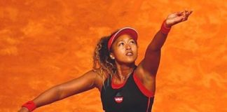 tennis star Naomi Osaka