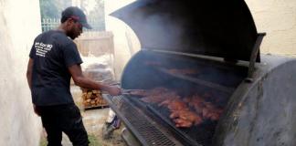 Haitian barbecue