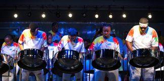 Steel Pan Music at Miami Broward Caribbean Carnival