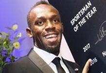 Usain Bolt Humanitarian award