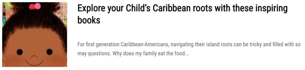 caribbean children books