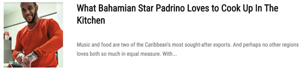 bahamian padrino