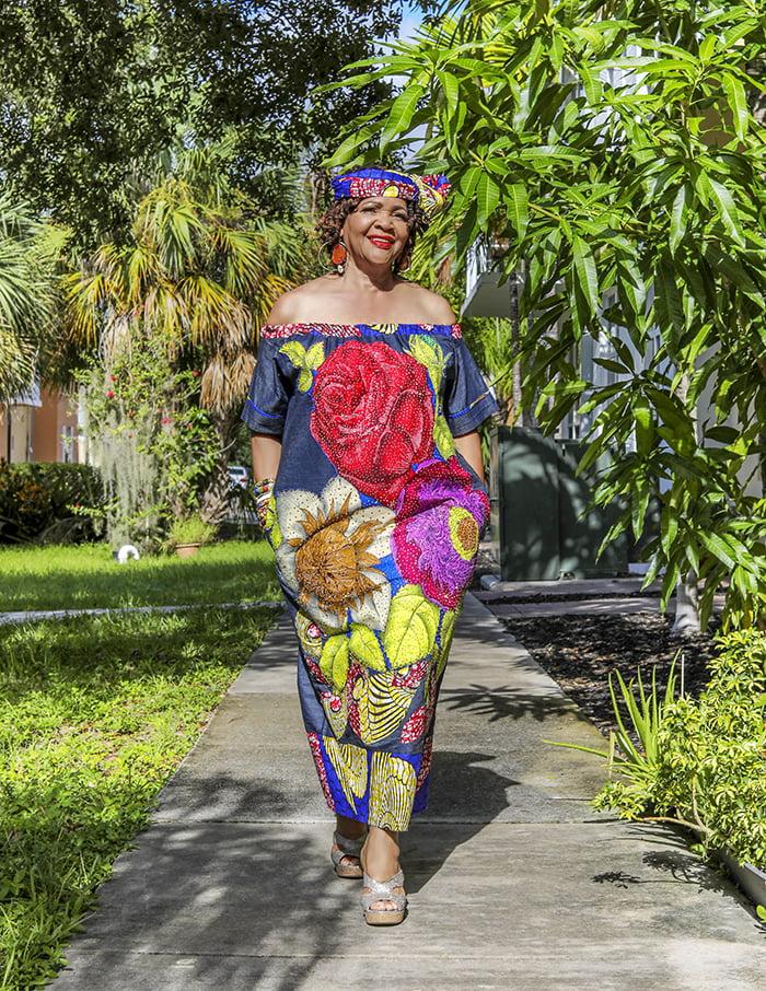 Caribbean designers African prints