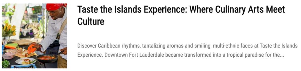 islands experiences