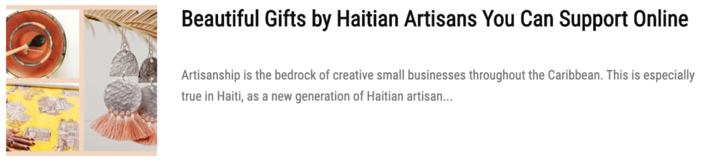 gifts by haitian