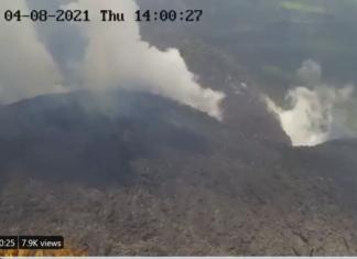 St Vincent volcano eruption