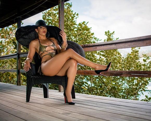 Caribbean swimsuit designers, beach ready, body positive - Melissa Bonadie St Vincent