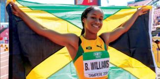 Briana Williams - Jamaican sprinter Olympics
