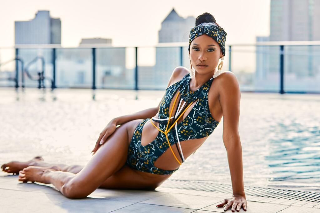 Caribbean swimsuit designers, beach ready, body positive