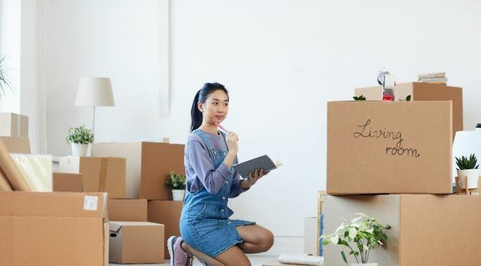 The Stages of a Long-Distance Move in Order