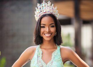 Island Origins Magazine - Miqueal Symone Williams Miss Universe Jamaica 2021 Beauty Queen