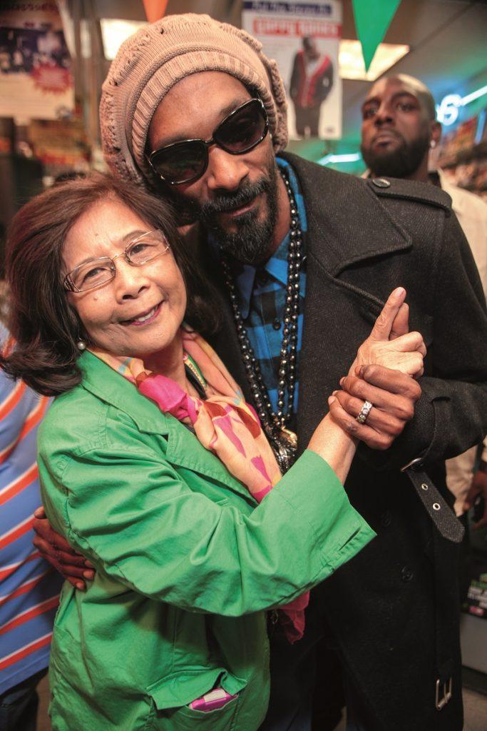 Island Origins - Patricia Chin Miss Pat and Snoop Dogg VP Records Reggae Godmother Caribbean Music International